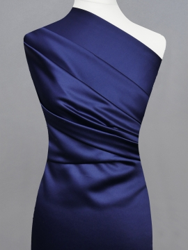 Satyna kolorowa AT-20 Navy Blue