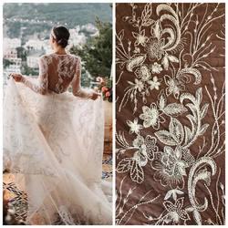 🆕Lace HT-106 wyszywana koralikami i cekinami , wyjątkowa 🤩 inspiracja jest suknia INBAL DROR ❤️ #newlace #lace #lacebridal #lacedresses #lacefashionofficial #lacefebric #lacefabric #weddingdress #weddinginspirasi #weddinglace #tkaninyslubne #koronkislubne #scarlett #warszawa #hurtowniatkanin
